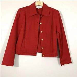 St. John Sport Button Down Blazer Jacket
